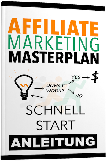 Affiliate Marketing Masterplan Schnellstart Cover